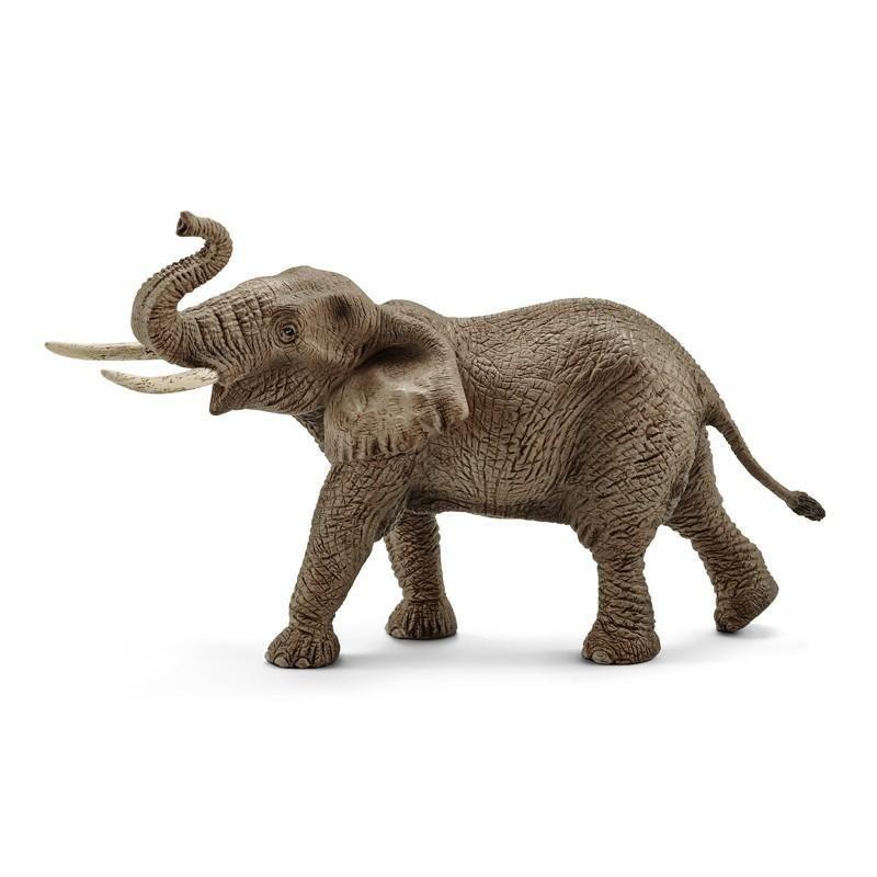 Dřevěné hračky Schleich - slon africký samec
