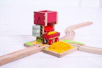 Dřevěné hračky Bigjigs Rail Věž s pískem