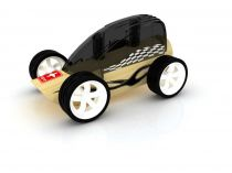 Hape Dřevěné auto závodní autíčko Mini Low Rider