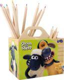 Small Foot Dřevěný stojánek na tužky ovečka Shaun