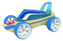 Hape Dřevěné auto závodní autíčko Mini Roadster