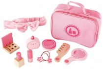 HAPE dřevěné hračky - dřevěný kosmetický kufřík