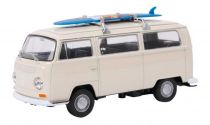 Small Foot Model automobilu VW autobus T2 surfovací prkno