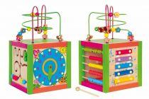 Motorické hračky - Didaktická kostka barevná