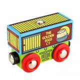 Bigjigs Rail Vagónek se zlatými vejci