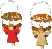 Dekorace andělé 2ks
