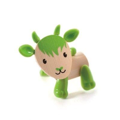 Dřevěné hračky Hape Dřevěná zvířátka koza
