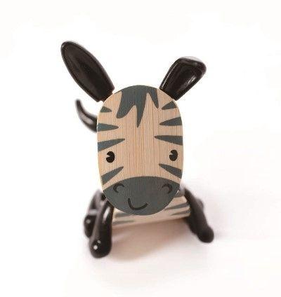 Dřevěné hračky Hape Dřevěná zvířátka zebra