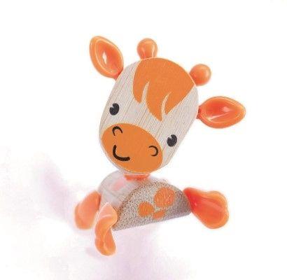 Dřevěné hračky Hape Dřevěná zvířátka žirafa