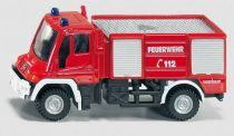 Siku Kovový model požární vozidlo Unimog 1:87