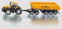 SIKU Farmer - Traktor se sklápěcím přívěsem 1:87
