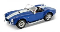 Welly - 1965 Shelby Cobra 427 1:24 modrá