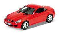 Welly - Mercedes-Benz SLK 350 1:24 červený