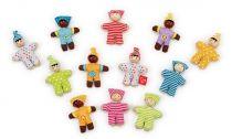 HAPE dřevěné hračky - dřevěná postavička miminko
