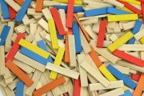 Dřevěné hračky Vilac Stavebnice Batibloc color 100