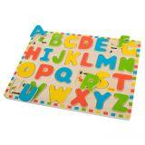 Dřevěné hračky Bigjigs Toys Anglická abeceda s obrázky