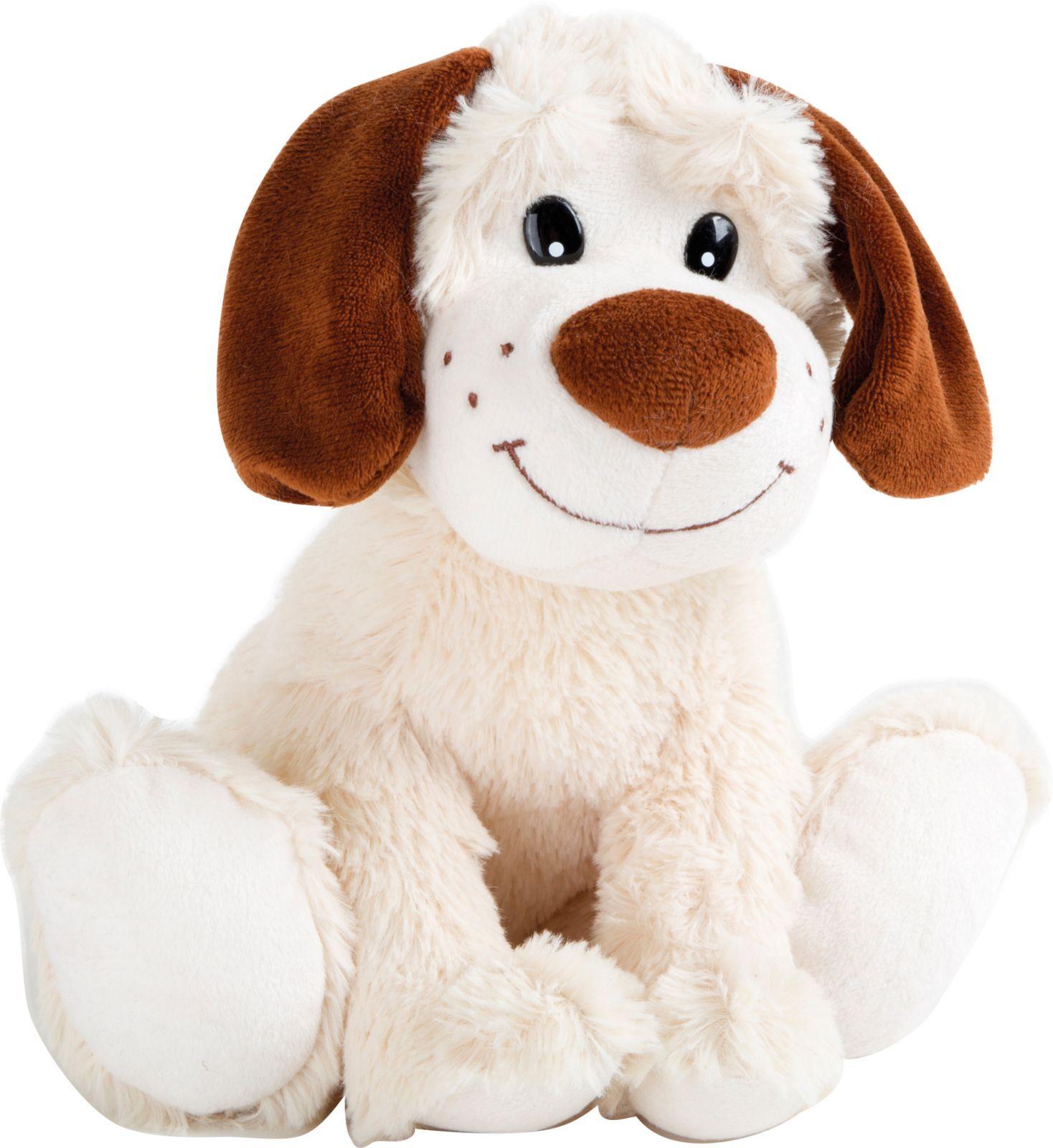 Dřevěné hračky Small Foot Plyšové bílé štěně Small foot by Legler