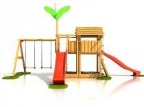 Dřevěné hračky Dřevěné dětské hřiště - Stavebnice hřiště Čikita plus PA