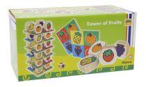 Dřevěné hračky Small Foot Dřevěné hračky ovocná věž Small foot by Legler