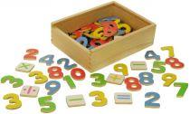 Dřevěné hračky Bigjigs Toys Magnetické počítání