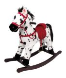 Dřevěné hračky Small Foot Houpací kůň tygrovaný strakáč Small foot by Legler