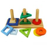 Dřevěné hračky Bigjigs Toys Nasaď a otoč