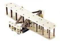 Dřevěné hračky Small Foot Třívrstvé pěnové 3D puzzle dvouplošník Small foot by Legler
