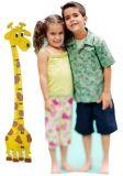 Dřevěné hračky DoDo Dětský metr žirafa Amina 3