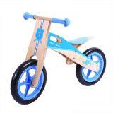Dřevěné hračky Bigjigs Toys Dřevěné odrážedlo modré