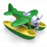 Dřevěné hračky Green Toys - Hydroplán zelený