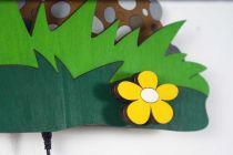 Dřevěné hračky DoDo Dětská LED lampička měsíček