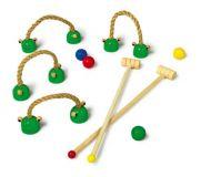 Dřevěné hračky Small Foot Dětský kroket na doma Small foot by Legler