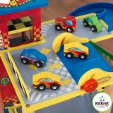 Dřevěné hračky KidKraft Mega rampa pro závodní autíčka