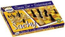 Dřevěné hračky Detoa Dřevěné šachy
