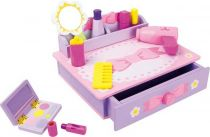 Dřevěné hračky Dřevěné hračky - Toaletní stolek Mašle Small foot by Legler