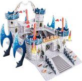 Dřevěné hračky Small Foot Třívrstvé pěnové 3D puzzle dračí hrad Small foot by Legler
