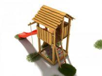 Dřevěné hračky Dřevěné dětské hřiště - Stavebnice hřiště Bimbo PA