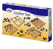 Dřevěné hračky Detoa Soubor her