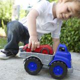 Dřevěné hračky Green Toys Nákladní auto se závodním autem