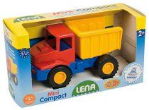 Dřevěné hračky Mini Compact traktor s přívěsem Lena