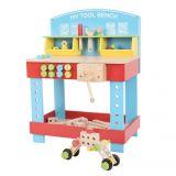 Dřevěné hračky Bigjigs Toys Dřevěný pracovní stůl