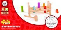 Dřevěné hračky Bigjigs Baby Dřevěná zatloukačka Bigjigs Toys