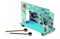Dřevěné hračky Detoa Magnetické divadlo Krtek