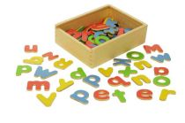Dřevěné hračky Bigjigs Toys Magnetická abeceda