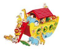 Dřevěné hračky Small Foot Dřevěná Noemova archa velká Small foot by Legler