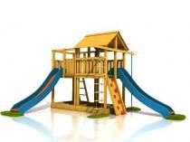 Dřevěné hračky Dřevěné dětské hřiště - Stavebnice hřiště Tomáš PA