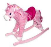 Dřevěné hračky Small Foot Dřevěný houpací růžový kůň Pinky Small foot by Legler