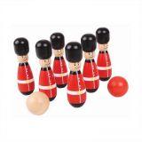 Dřevěné hračky Bigjigs Toys Kuželky angličtí gardisti