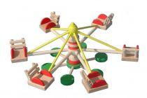 Dřevěné hračky Muzikální hračky - Osobní auto s válcem Makovský