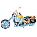 Dřevěné hračky Woodcraft Dřevěné 3D puzzle motorka Harley Davidson II Woodcraft construction kit